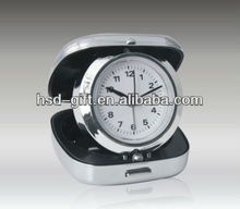 HSD Metal Travel Alarm Clock Part Number 5029