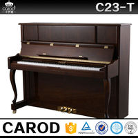 C23T red walnut cheap instrument music piano form china factory