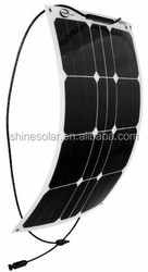 all black solar module 100w 12v mono silicon solar panel sunpower