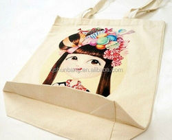 cotton green bag/ cotton canvas tote lunch bags/ reusable 2015 red stain cotton bag for hair straightener/flat iron