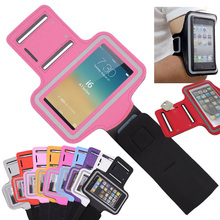 Wholesale Gym Used Mobile Phone Holder Convenient Armband Unisex Neoprene Armband for iPhone 6 plus 6 5s 5c 5 4 4s