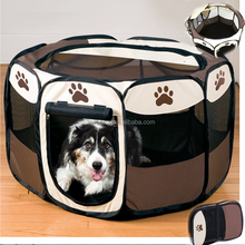 folding portable USA octagonal pet dog tent playpen fence
