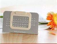 Perpetual calendar desk calendar for ending year gift