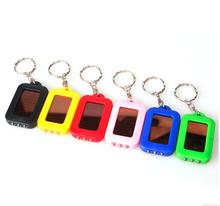 mini gps tracker keychain led crystal keychain