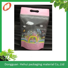 high quality stand up ziplock bag in beauty