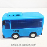 BUS PVC toy for kids/plastic vehicle toys/Vinyl&injection toys Shenzhen