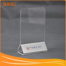 With independent export rights! customizing acrylic table tablet stands or menu display holder