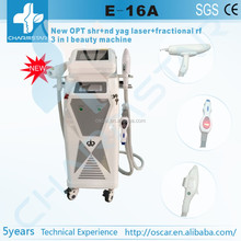 2015 new ! OPT hair removal Fractional RF laser 3 in1 beauty machine