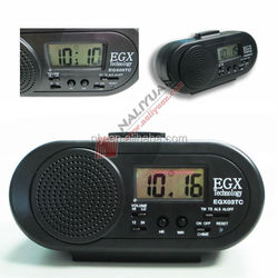 factory directly supply talking alarm clock with hourly chime