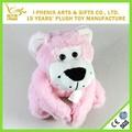 nuevo diseño de color rosa tigre de peluche de juguete