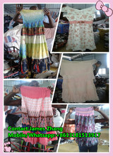 High Quality Used Clothes ,Fashion Ladies' Silk Skirts original form Korea