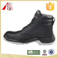 high qualty steel toe black work boot , cheap work boot , men work boot for men