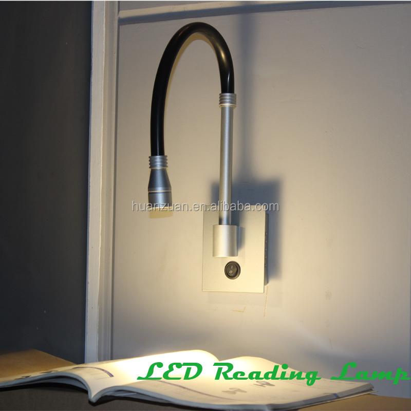 biegerohr aluminiumbasis bett wandleuchte schwanenhals lampe f hrte lesung wandleuchte. Black Bedroom Furniture Sets. Home Design Ideas