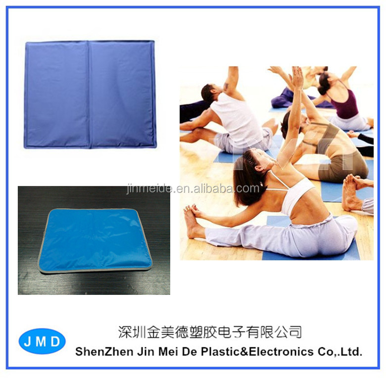 Unique Cooling Gel Yoga Mat / Folding Yoga Mat / Reusable