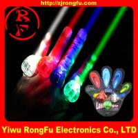 wholesale flash led finger ring for children baby