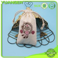 New Style White Promotional Printed Cotton Pouch Manufacturer