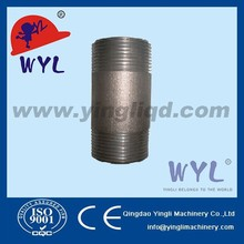 ASTM A105 Forged steel pipe fittings thread round nipple