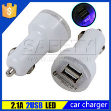 Promotion Colorful Universal Dual Usb 5V 2.1A Car Charger