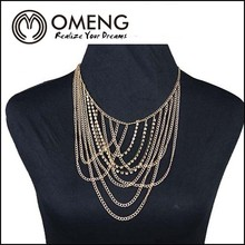 2014 Rainbow Flower Necklace Crystal Gem Ornament Deserve Brief Paragraph Female Collarbone Chain Wholesale