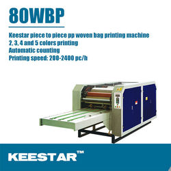 Keestar 80WBP steady 2/3/4/5 color pp woven bag for piece printer