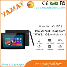 cheapest tablet pc sim card slot 10.1 inch 3g wifi intel quad core 2.0/2.0mp camera portable laptop notebook