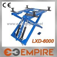 2014 hot sale 6000lb portable car scissor lift / small scissor jack