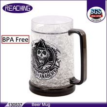 Cheap Personalized Sublimation Freezing Plastic Engraved Frosted Freezer Big Wholesale Unique Huge Oz Awesome Beer Mugs