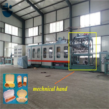 GPPS plastic box/container auto parts making machine