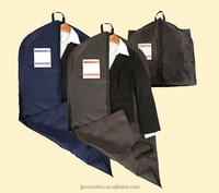 210 denier nylon Garment Bag Double carrying handle Large ID card holder and single zippered main compartment