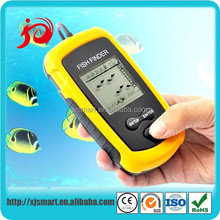 New portable wireless fish finder machine with LCD display