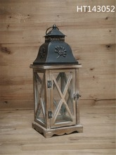 antique hanging wooden Christmas decoration lantern