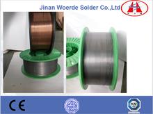 Consumibles de soldadura mig alambre / soldadura / alambre de cobre