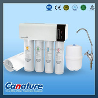 electrionic display 5 stages residential RO water treatment system with Quick change RO filter
