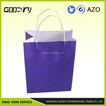 Cheap and high quality Eco friendly white kraft paper gift bag