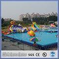 interior de plástico retangular piscina para o verão