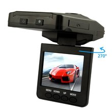 "2.5"" HD LCD Infra-Red Night Vision 120 degrees Vehicle Recorder Camcorder CCTV In Car"