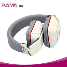 Best sound heavy bass wired stereo headphone with microphone support Mp3 player PC mobile phone