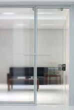 1080 double clear glass connect with door room divider trade assurance customized aluminum frame office full high partition wall