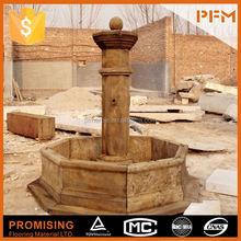 Último naturais melhor preço de mármore made característica da água fonte fogos