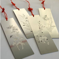 2014 new beautiful 3D stainless steel bookmark