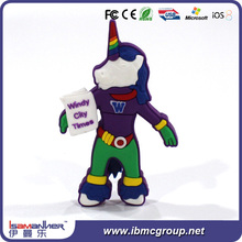 China top selling cartoon character usb flash drive with life warranty
