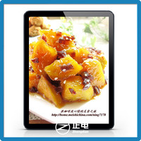 2015 new electronic wall hanging picture frame acrylic display box lighted