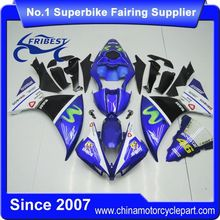 FFKYA007 Motorcycle Fairing Kit For R1 2012 2013 2014 Movistar