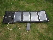 portable solar panel 18w high power folding solar charger panel