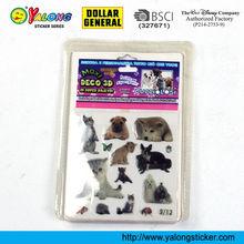 New item 3D epoxy sticker