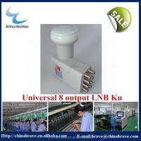 satellite ku band 8-output universal LNBF