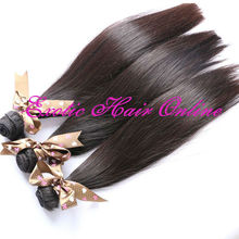 Exotichair mix lot virgin hair black hair care products wholesale