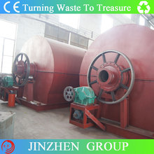 Completely Automatic Waste Tire Recycling Pyrolysis Plant