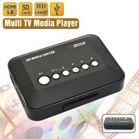 Portable High Quality Mini Flash Player 1080P Full HD Media Player Multi Video Advertising Player