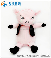Plush pig with clothes for kids, Customised toys,CE/ASTM safety stardard